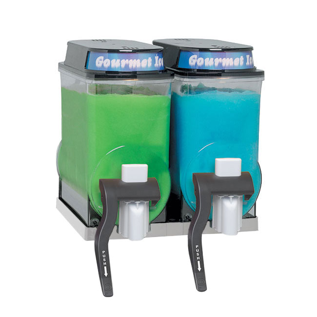 Bunn 34000.0401 Ultra Gourmet Ice Hopper Kit - (2) 3-gal Hoppers