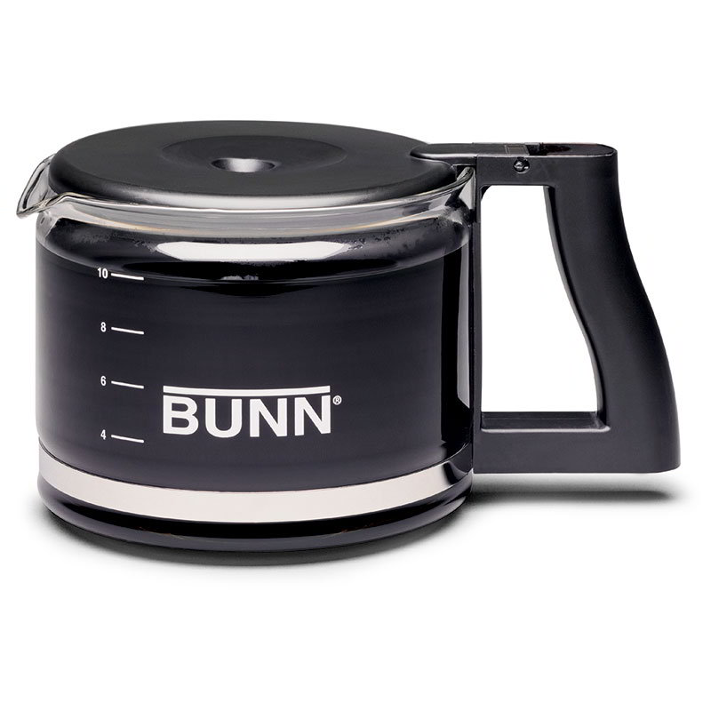 Bunn GLASS-NCD-0001 Black NCD Coffee Decanter For Home Brewers