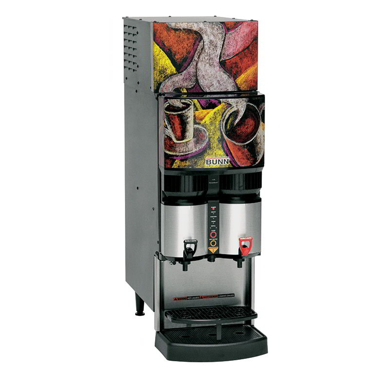 BUNN-O-Matic 34400.0038 Refrigerated Liquid Coffee Dispenser, LiquiBox QC/DII Connect 45:1-100:1