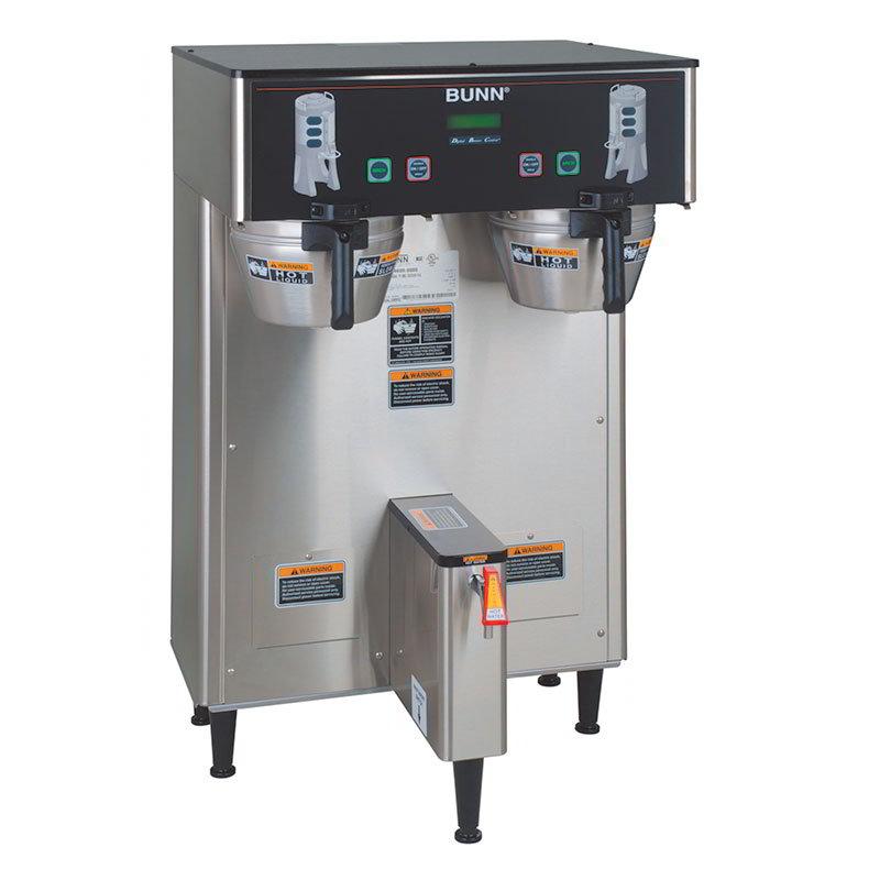 BUNN-O-Matic 34600.0000 Dual Satellite Digital Coffee Brewer w/ Funnel Lock, 120/240V