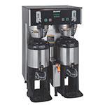 Bunn TF-DUAL-DBC-0004 Dual TF DBC Dual Satellite Digital Coffee Brewer, Stainless, 120/208v (34600.0004)