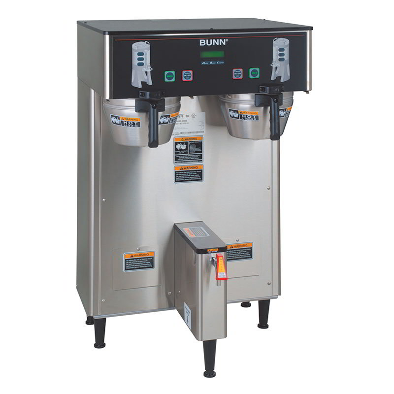 Bunn 34600.0004 Dual TF DBC Dual Satellite Digital Coffee Brewer, S/S Finish, 120/208V
