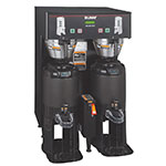 Bunn TF-DUAL-DBC-0005 Dual Satellite Digital Coffee Brewer, Black Finish,  120-208v/1ph (34600.0005)