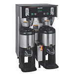 Bunn TF-DUAL-DBC-0006 Dual Satellite Digital Coffee Brewer w/ Funnel Lock, 120/208v (34600.0006)