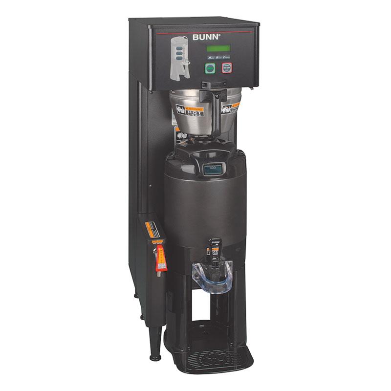 Bunn TF-SNGL-DBC-0001 Single Satellite Coffee Brewer, Black, Funnel Lock, 120/240v (34800.0001)