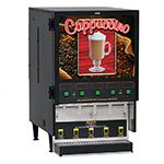 Bunn FMD-5-0000 FMD-5 BLK Hot Powdered Drink Machine, 5 Hoppers