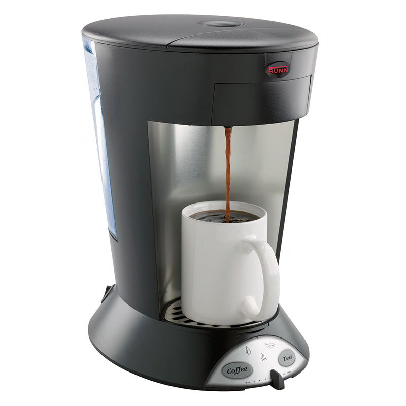 Bunn 35400.0003 MCP My Cafe Pod Brewer, Pourover, 1 Cup, Coffee & Tea