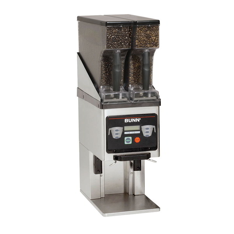 Bunn MHG-0020 Multi-Hopper Grinder & Storage System w/ Dual 6-lb Removable Hopper (35600.0020)