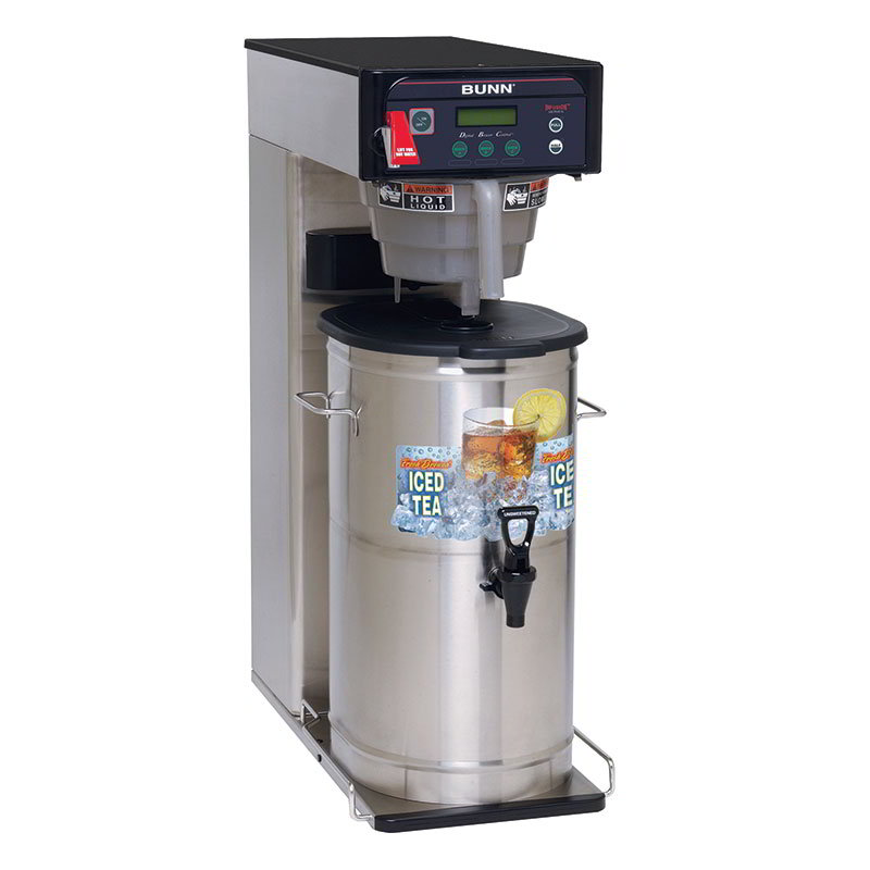 "Bunn ITCB-DV-0001 ITCB-DV Infusion Tea Coffee Brewer, 25.75"" Trunk, Dual Voltage (35700.0001)"