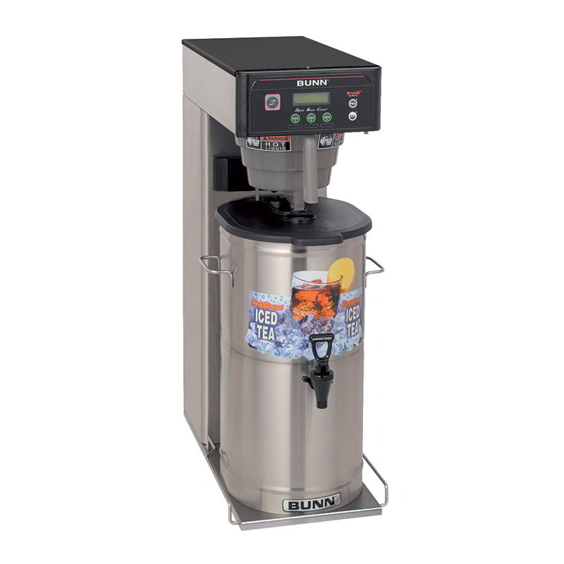 Bunn ITCB-DV-0033 3-5 Gallon Infusion Tea/Coffee Brewer, With Sweetener, 120/208-240 V (35700.0033)