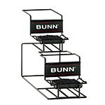 Bunn UNIV-2-0000 UNIV-2 APR Universal Airpot Rack, For 2 Airpots, Holds 1 Upper/1 Lower (35728.0000)