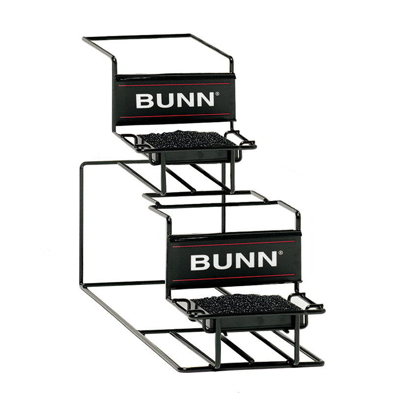 BUNN-O-Matic 35728.0000 UNIV-2 APR Universal Airpot Rack, For 2 Airpots, Holds 1 Upper/1 Lower