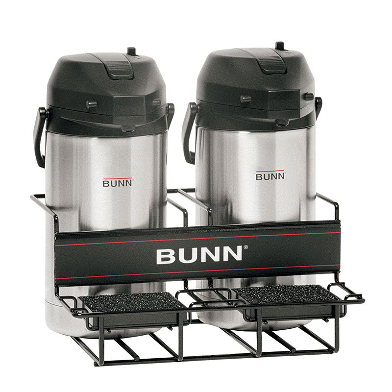 BUNN-O-Matic 35728.0001 UNIV-2 APR Universal Airpot Rack, For 2 Airpots, Holds 2 Lower