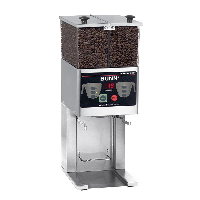 Bunn FPG-2-DBC-0000 FPG-2 DBC Coffee Grinder For French Press, 2 Hoppers, Digital (36400.0000)