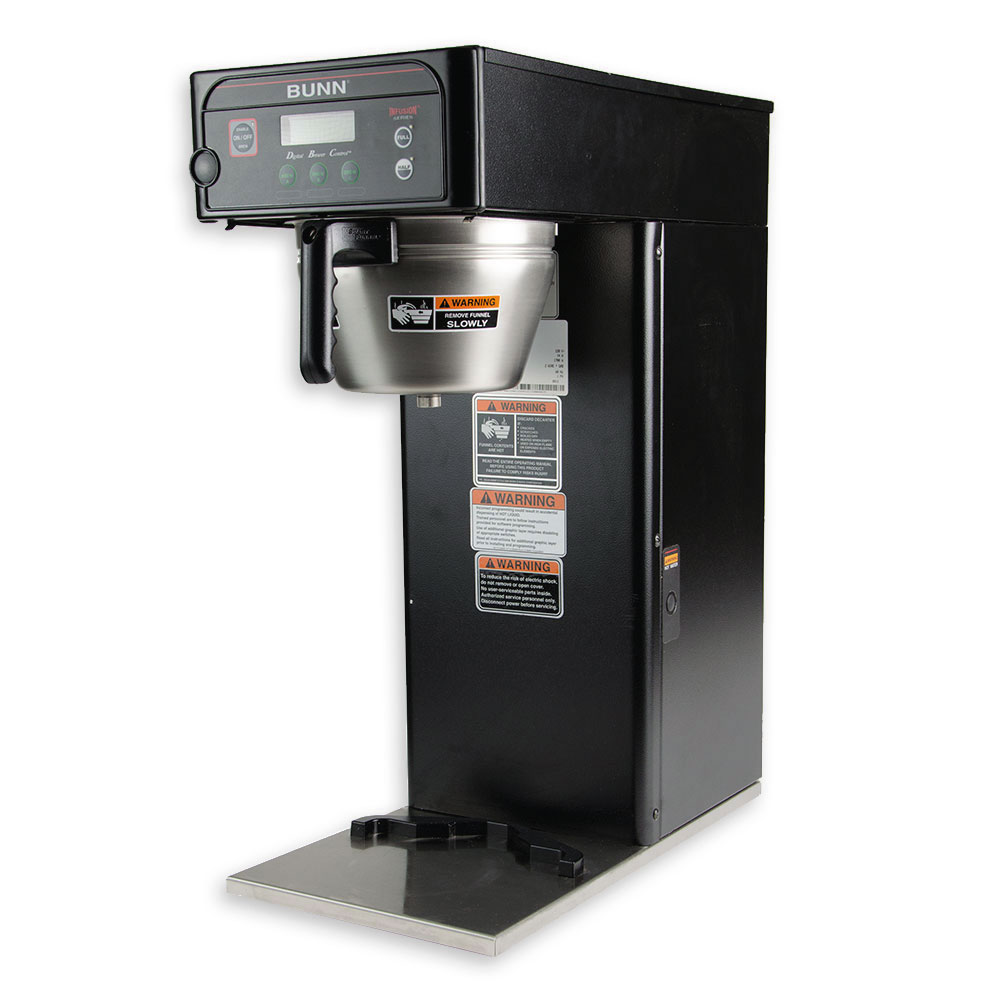 Bunn ICB-DV-0000 3-Gal Infusion Coffee Brewer, English/Spanish Display, Stainless