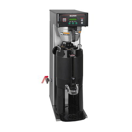 Bunn 36600.0015 Tall Automatic Single Coffee Brewer w/ 3-Brew Buttons, Side Faucet & 2-Switches (36600.0015)
