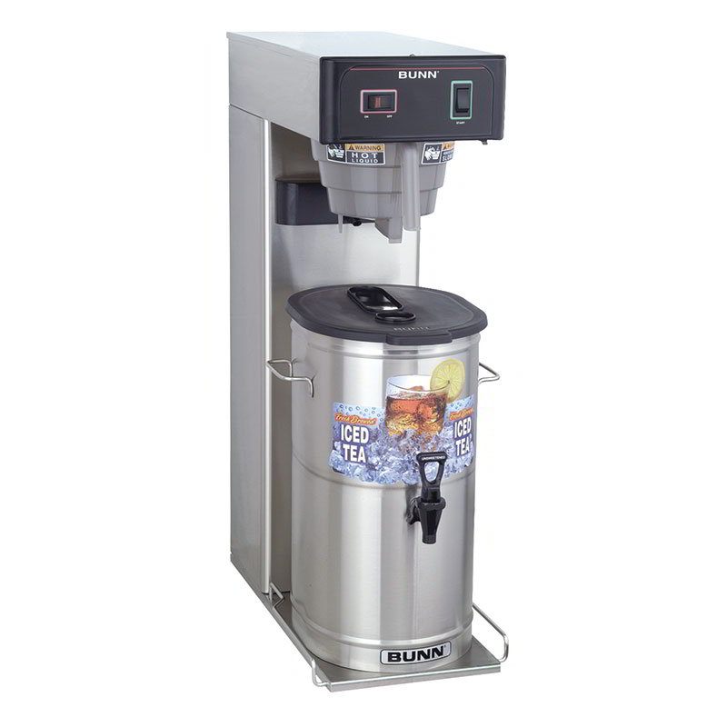 "Bunn TB3-0030 TB3 Iced Tea Brewer, 3 Gallon, 25.75"" Trunk, (36700.0030)"