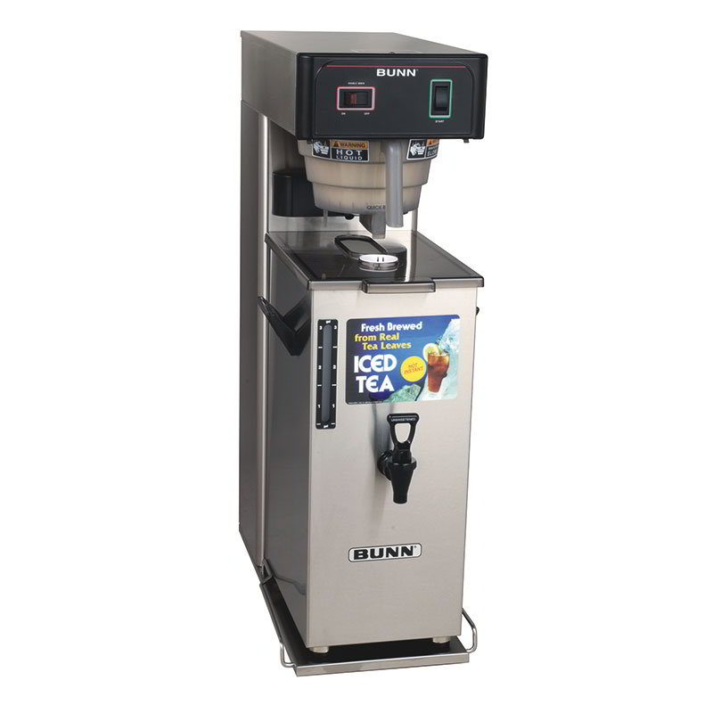 BUNN-O-Matic 36700.0041 TB3Q w/TD4T Iced Tea Brewer W/Dispenser