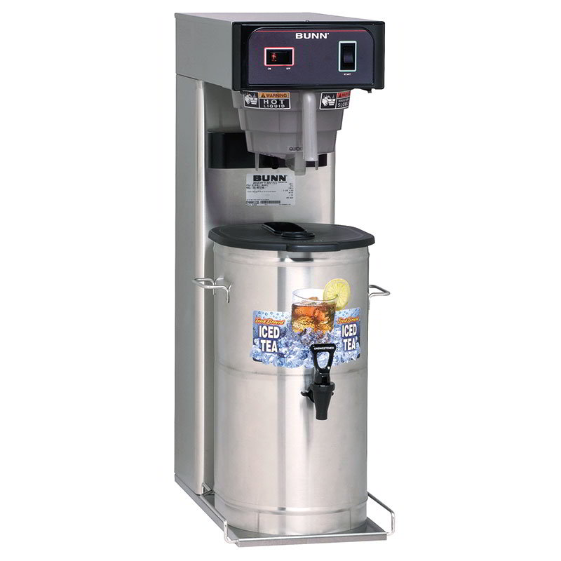 "Bunn TB3Q-0059 TB3Q Iced Tea Brewer, 25.75"" Trunk, Quick Brew (36700.0059)"