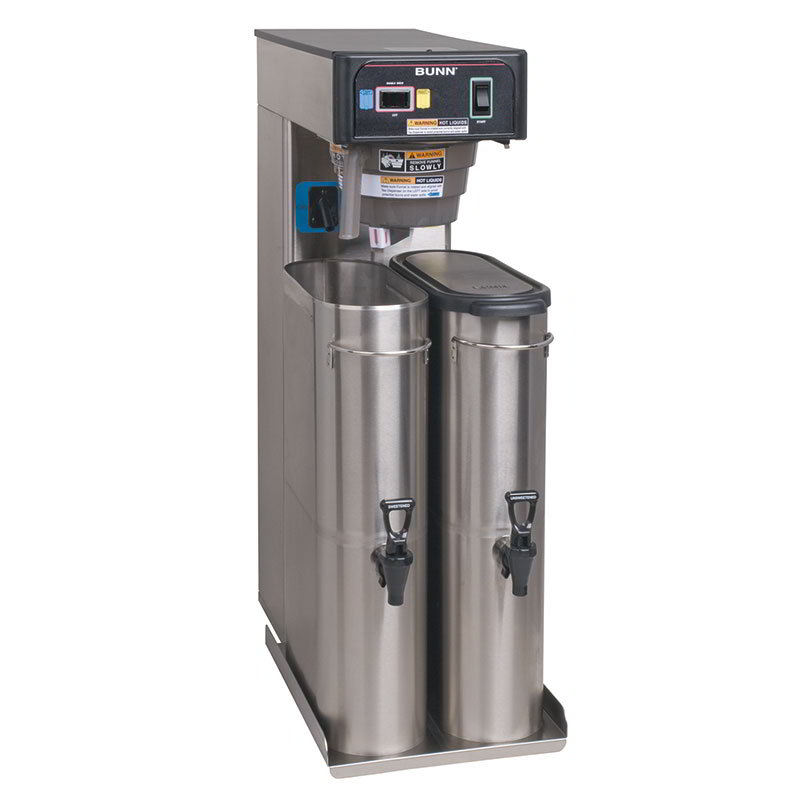 Bunn TB6-0300 6 Gallon Automatic Twin Iced Tea Brewer, Rotating Brew Baskets, 120 V (36700.0300)