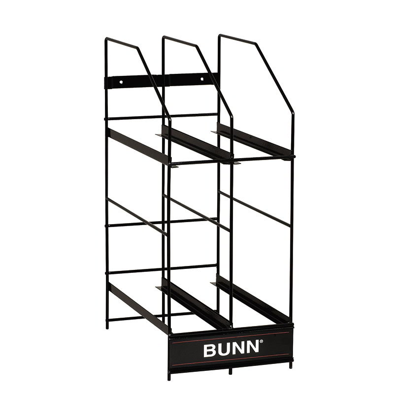 Bunn 36760.0001 Hopper Rack, 4 Position, For MHG 6 lb Hoppers