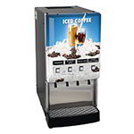 Bunn JDF-4S-0016 4-Flavor Beverage System, Iced Coffee Display, 120 V (37300.0016)