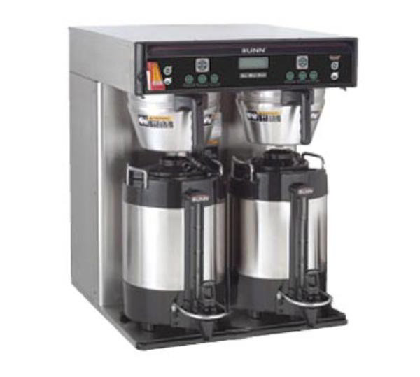 BUNN-O-Matic 37600.0000 5.6-Gallon Twin Coffee Brewer, English/Spanish Display, 120-240 V