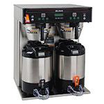 Bunn ICB-TWIN-0002 5.6-Gallon Twin Coffee Brewer, English/Spanish Display, 120-208 V (37600.0002)