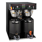 Bunn ICB-TWIN-0004 ICB-TWIN Infusion Coffee Brewer, 5.6 Gallon, Black, 120-208V (37600.0004)