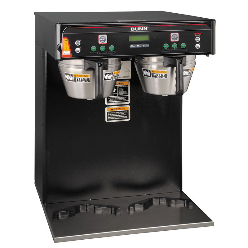 Bunn ICB-TWIN-0004 ICB-TWIN Infusion Coffee Brewer, 5.6 Gallon, Black, 120-208V (37600.0004)