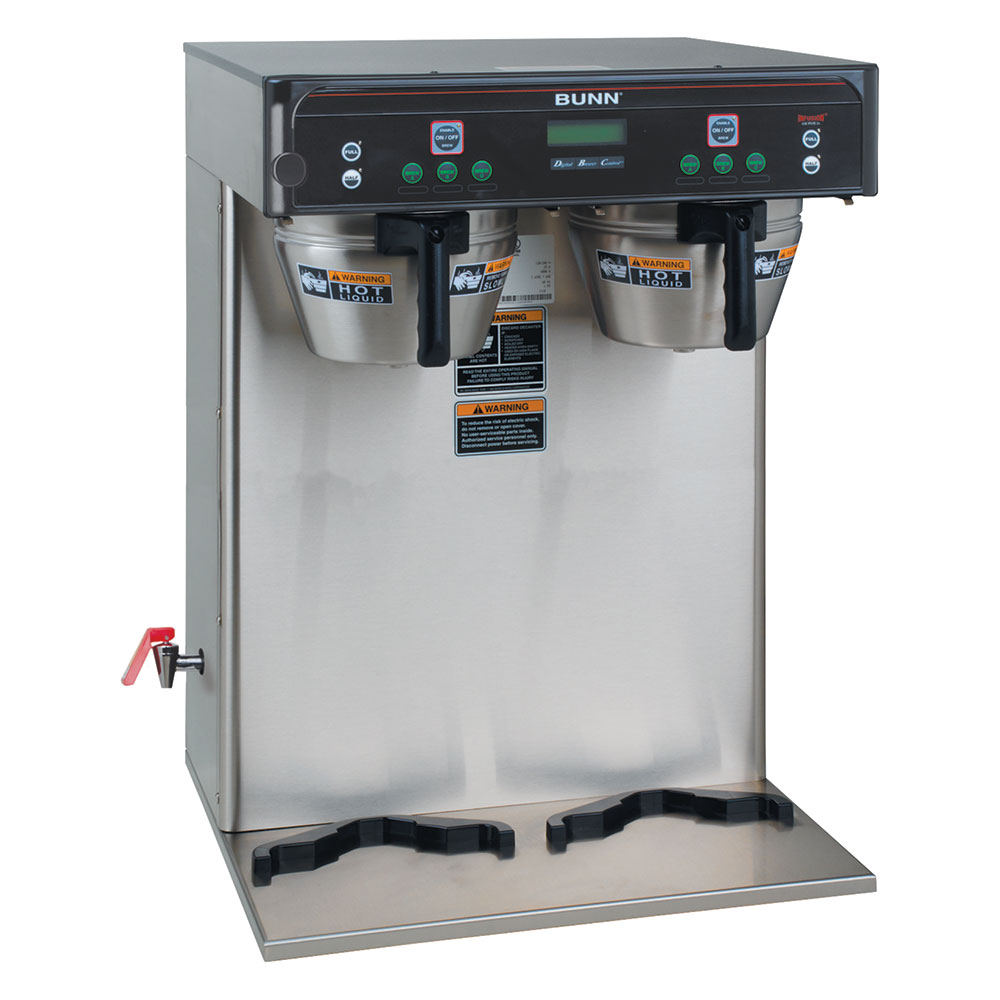 Bunn ICB-TWIN-0011 Coffee Brewer 18.9-gal/hr Capacity 3-Brew Button 2-Programmable Batch Switches (37600.0011)