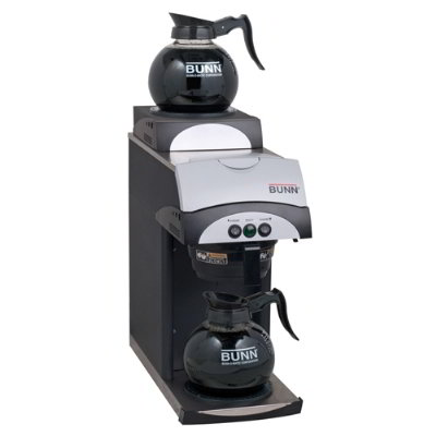 Bunn 37800.0105 392 Pourover 12-Cup Coffee Brewer w/ 2-Warmers, Pitcher