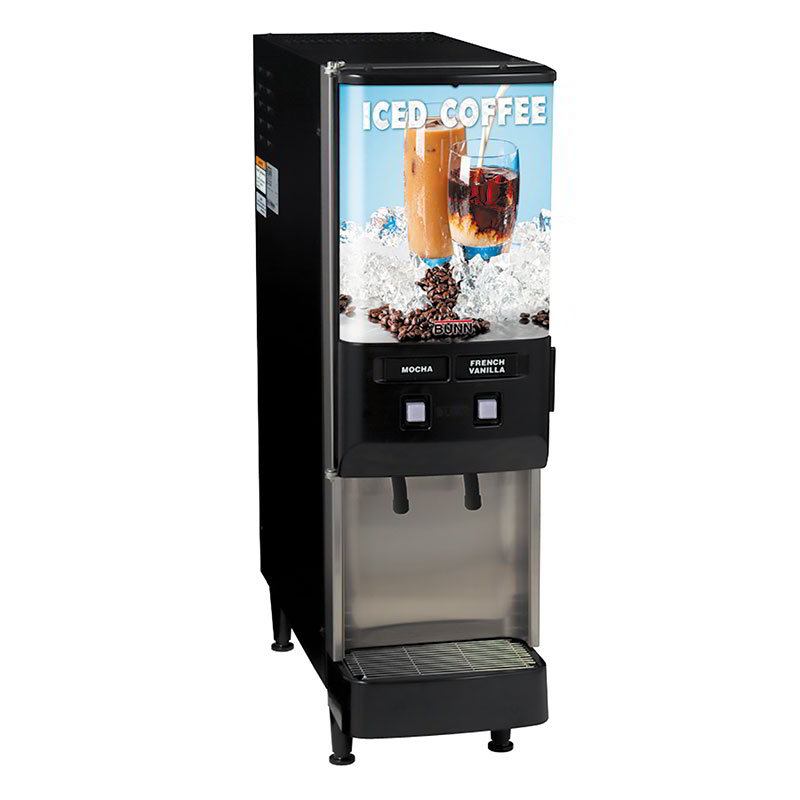 BUNN-O-Matic 37900.0002 2-Flaver Beverage System, Iced Coffee Display, 120 V