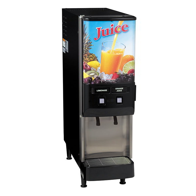 Bunn JDF-2S-0025 2-Flavor Beverage System, Dual Dispense, Juice Display, 120 V (37900.0025)
