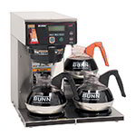Bunn 38700.0003 3 Lower Warmer Coffee Brewer, Hot Water Faucet, LCD Display, 120-240 V