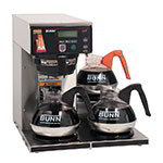 Bunn AXIOM-DV-3-0009 AXIOM-DV-3 Automatic Brewer, 3 Lower Warmers, Dual Voltage