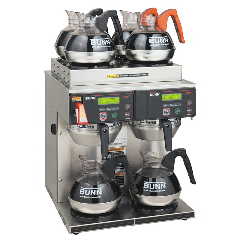 Bunn AXIOM-4/2-0014 AXIOM Coffee Brewer, 2 Lower And 4 Upper Warmers, 120/208-240 V (38700.0014)