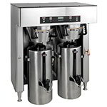 Bunn TITAN-DUAL-0000 Dual Insulated Coffee Server Brewer w/ Faucet, 34.3-Gal/Hr, 120-208/3 (39200.0000)