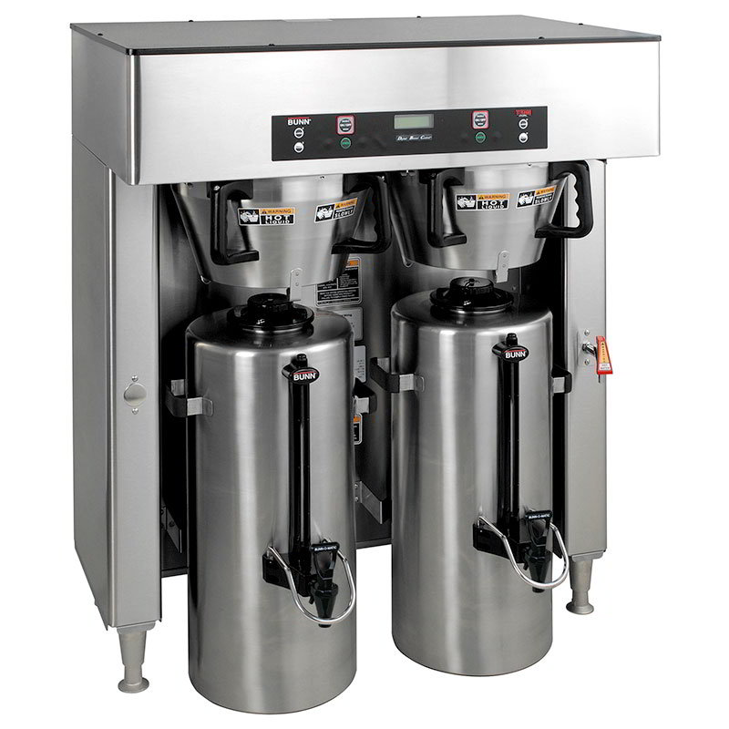 BUNN-O-Matic 39200.0000 Dual Insulated Coffee Server Brewer w/ Faucet, 34.3-Gal/Hr, 120-208/3