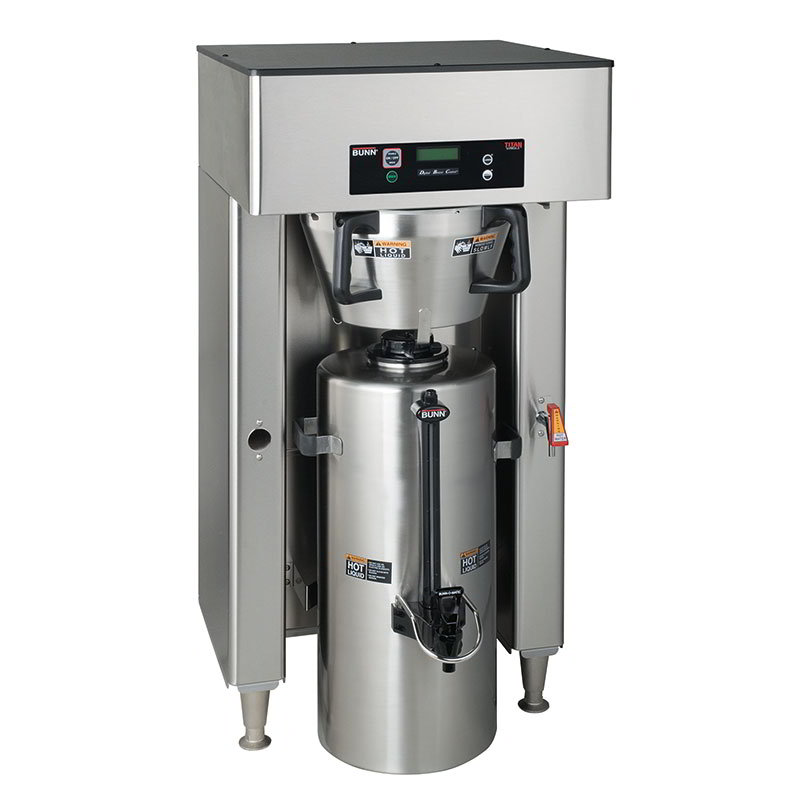 Bunn 39300.0000 Dual Insulated Coffee Server Brewer w/ Faucet, 22.5-Gal/Hr, 120-208/3
