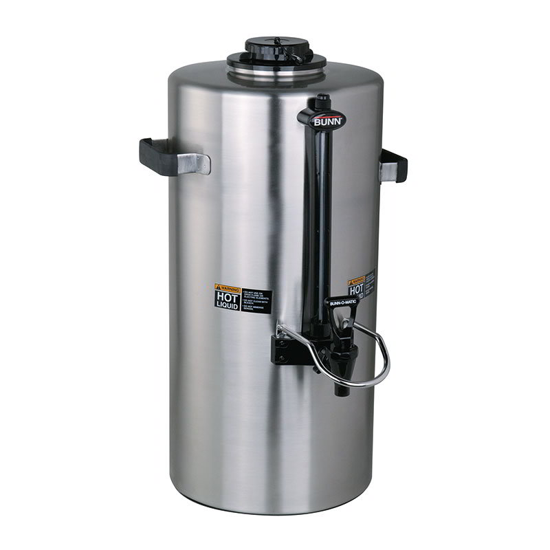 Bunn TITAN-TF-0001 3-Gallon Insulated Server, Brew Through Lid & Fast Flow Faucet (39400.0001)