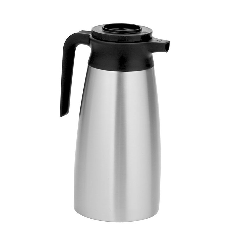 Bunn PITCHER-0000 Thermal Pitcher, 1.9 Liter (64 oz), Stainless Steel (39430.0000)