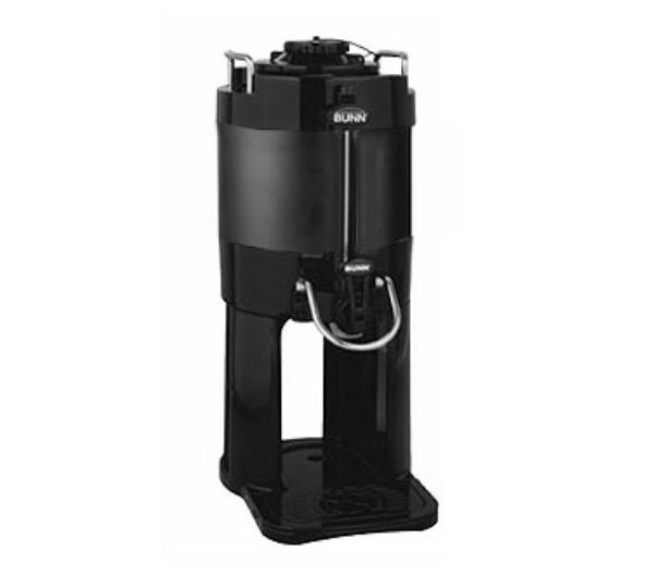 Bunn-o-matic 39500.0001 TF Server, 1 Gallon, Mechanical Gauge, Black, w/ Base