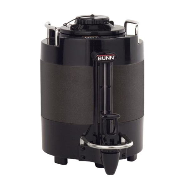 Bunn-o-matic 39500.0005 TF Server, 1 Gallon, Mechanical Gauge, Black, NO Base