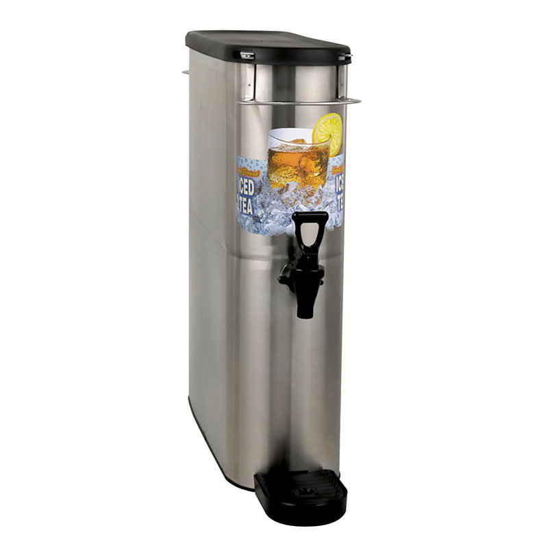 Bunn 39600.0002 4-Gal Brew Through Narrow Oval Iced Tea Dispenser