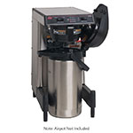 Bunn 39900.0009 WAVE-APS SmartWave Low Profile Wide Base Coffee Brewer, 120/240 V