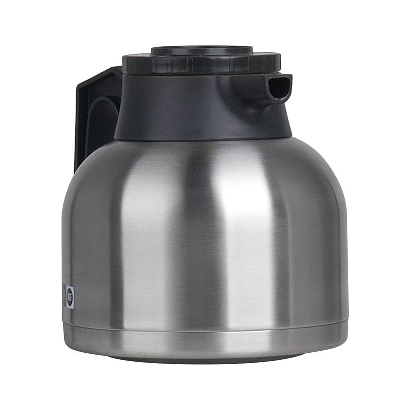 Bunn TC-ECON-0100 64-oz Thermal Carafe w/ Brew Thru & Vacuum Insulation, Black Lid, All Stainless (40163.0100)