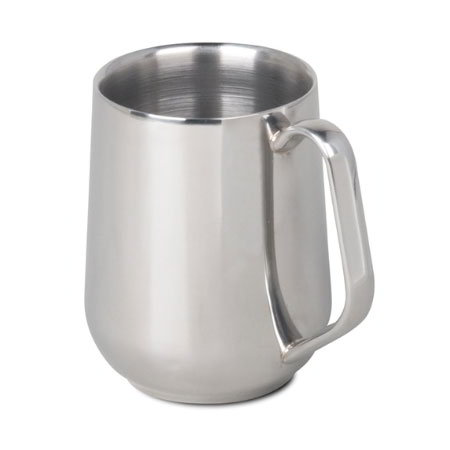 Bunn DBLWALL MUG-0003 14.5 oz Double-Walled Mug, Stainless (40400.0003)