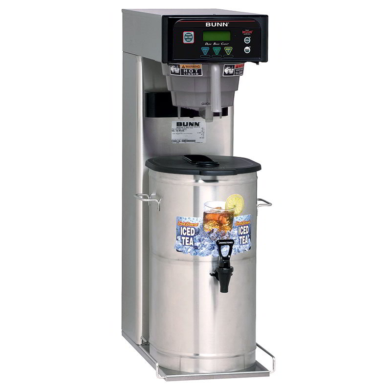 BUNN-O-Matic 41400.0001 5-Gal Iced Tea Brewer, Digital Controls & Sweetener, 120 V