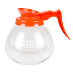 Bunn GD-O-1-0101 Glass Coffee Decanter, Decaf, Orange Pourer/Handle
